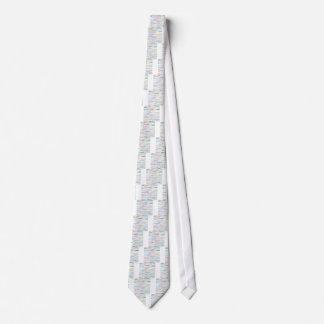 Alexander Text Design II Tie I