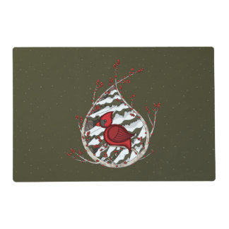 Alexander the Cardinal Laminated Place Mat