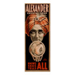 Alexander the Crystal Seer Poster