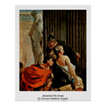 Alexander The Great By Giovanni Battista Tiepolo Posters