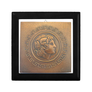 ALEXANDER THE GREAT COPPER WALL ART GIFT BOXES
