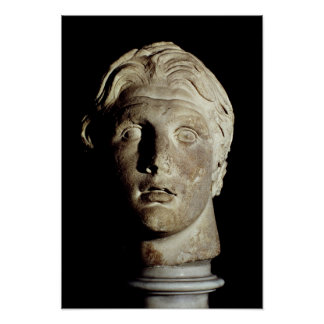 Alexander the Great , found in Pergamum Posters