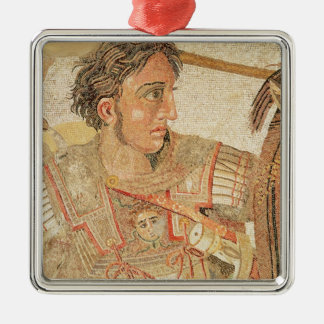 Alexander the Great  from 'The Alexander Square Metal Christmas Ornament