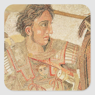 Alexander the Great  from 'The Alexander Square Sticker