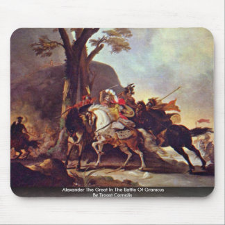 Alexander The Great In The Battle Of Granicus Mouse Pads