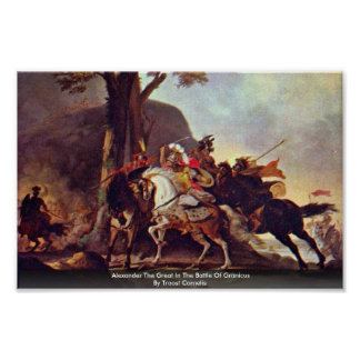 Alexander The Great In The Battle Of Granicus Posters