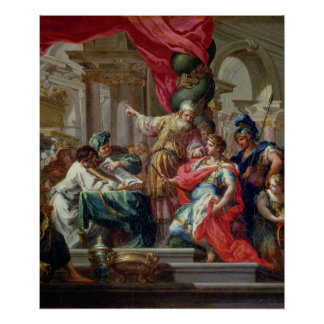 Alexander the Great in the Temple of Jerusalem Poster