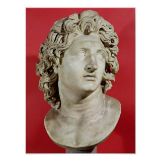 Alexander the Great  King of Macedonia Poster