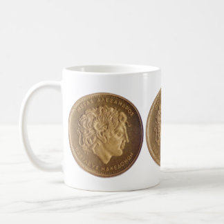 Alexander the Great, king of Macedonians Classic White Coffee Mug