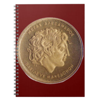 Alexander the Great, king of Macedonians Notebook