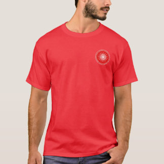 Alexander the Great Macedonian Red & White Shirt