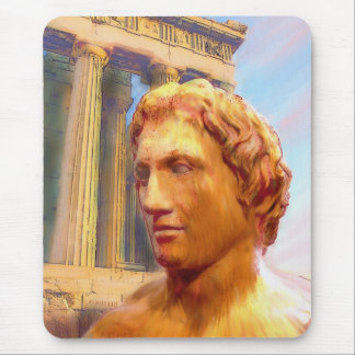 Alexander The Great Painting Mouse Pad