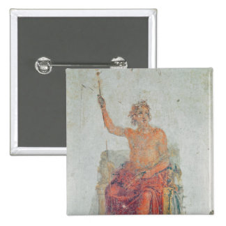 Alexander the Great, possibly as Zeus Pinback Button