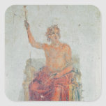 Alexander the Great, possibly as Zeus Square Sticker