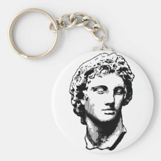 Alexander the Great statue Keychain