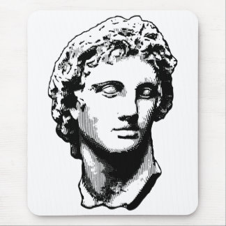 Alexander the Great statue Mouse Pad