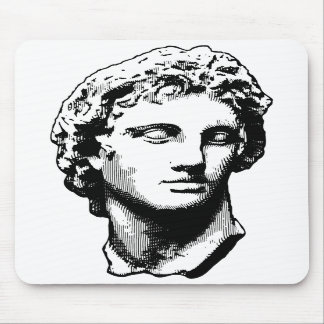 Alexander the Great statue Mouse Mat