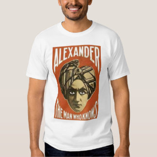 Alexander the Great Tee Shirts