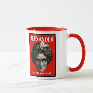 Alexander - The Man Who Knows Mug