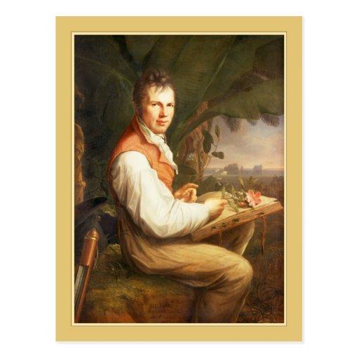 Alexander von Humboldt por Friedrich Jorge Weitsch Postales