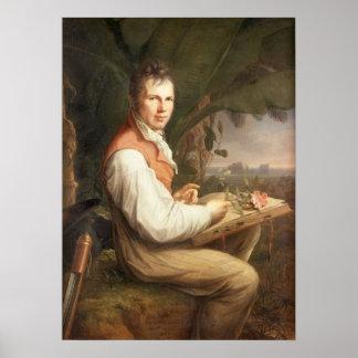 Alexander von Humboldt Póster