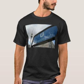 Alexanderplatz underground & TV tower T-Shirt