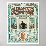 Alexander's Ragtime Band poster