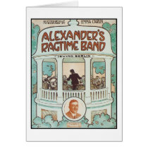 Alexander's Ragtime Band Vintage Songbook Cover