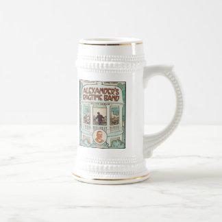 Alexander's Ragtime Band Vintage Songbook Cover Beer Stein
