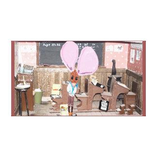 Alexander's Skool Days Canvas Print
