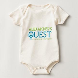 AlexandersQuestKnightTag Body Para Bebé