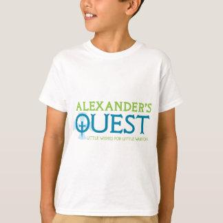 AlexandersQuestKnightTag Playera