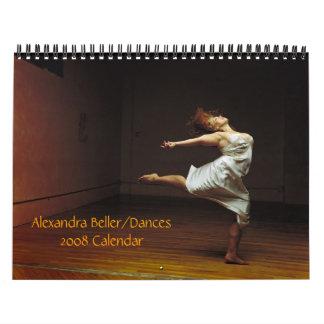 Alexandra Beller/Dances 2008 Calendar
