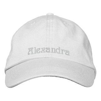 Alexandra - casquillo personalizado gorra de beisbol