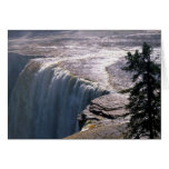 Alexandra  Falls, NW Territory, Canada Greeting Cards
