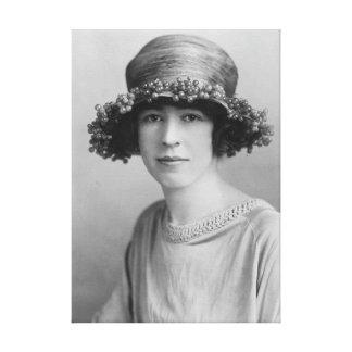 Alexandra honorable Bertie c1900 Impresion De Lienzo