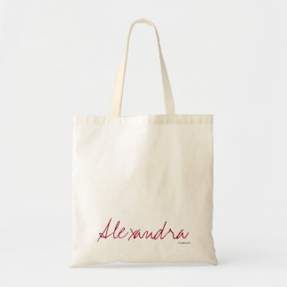 Alexandra - las bolsas de asas de la lona de la