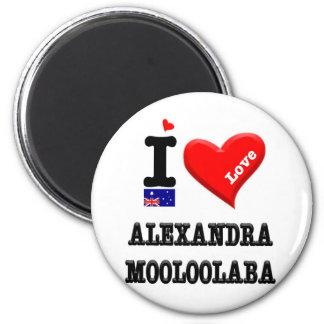 ALEXANDRA-MOOLOOLABA - I Love Magnet