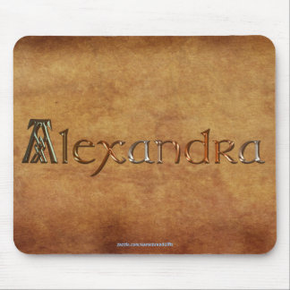 ALEXANDRA Name-Branded Personalised Gift Mousepad