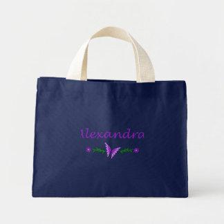 Alexandra (Purple Butterfly) Bags