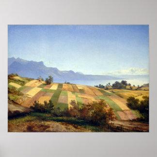 Alexandre Calame Swiss Landscape Poster