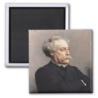 Alexandre Dumas Fils  1886 Magnet