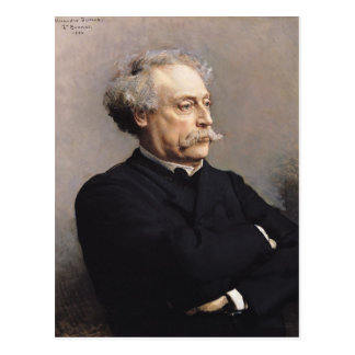 Alexandre Dumas Fils  1886 Postcard