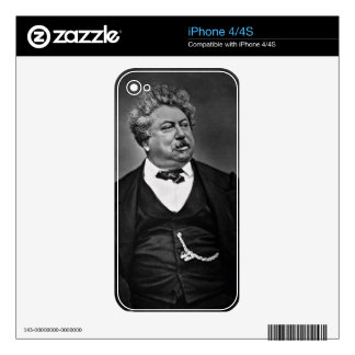 Alexandre Dumas pere (1802-70), from 'Galerie Cont Skins For iPhone 4S