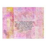 Alexandre Dumas Wisdom Life Quote Postcard