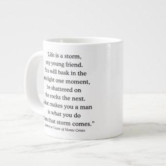 Alexandre Dumas Wisdom on Life 20 Oz Large Ceramic Coffee Mug