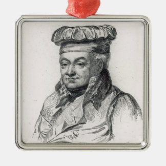 Alexandre Grimod de la Reyniere Metal Ornament