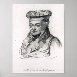 Alexandre Grimod de la Reyniere Poster