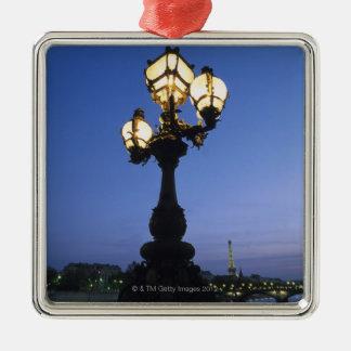 Alexandre III Bridge in Paris Metal Ornament