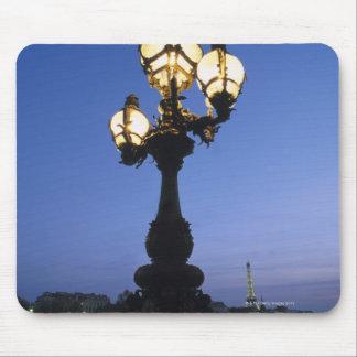 Alexandre III Bridge in Paris Mouse Pad